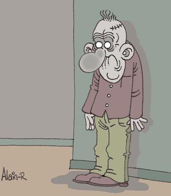 Les Congestions cérébro-spinales d'Alain-R Zombie-attitude...