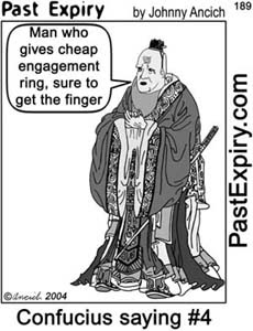 Past Expiry Cartoon & More.: [CARTOON] Engagement Ring