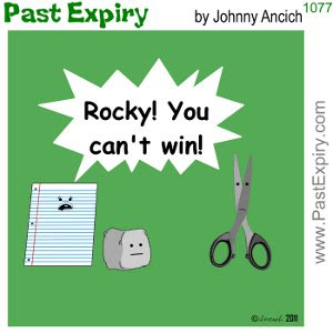[CARTOON] Rock Paper Scissors. cartoon, movie, spoof, games