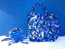 Conjunto bolsa e pulseira, faço em todos os tamanhos, modelos e  cores