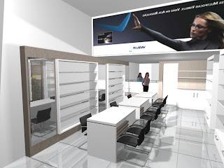 Projeto da Loja de óculos no Shopping Riomar em Aracaju (início de 2009). bc13606fd9