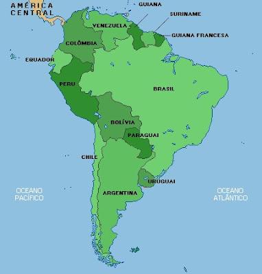 América do Sul, Geografia e Economia da América do Sul