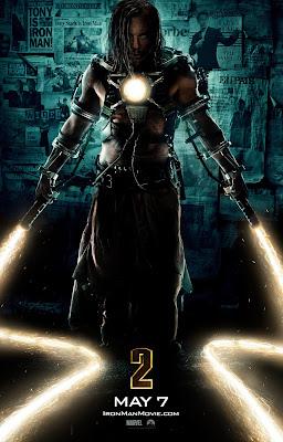 Affiche de Whiplash - Iron Man 2