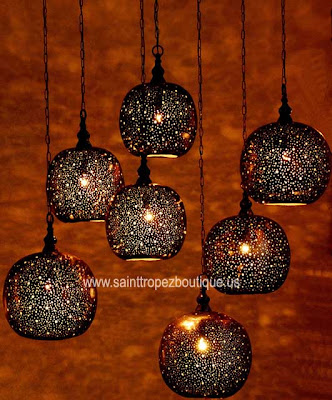 Moroccan lighting: Moroccan hanging pendant lighting | Moroccan ...