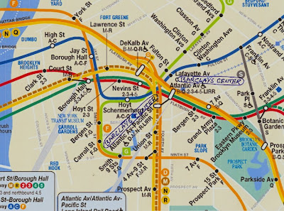 Mta Subway Map In 1990.Noticing New York Naming A Problem The Mta Gives Ratner The Right