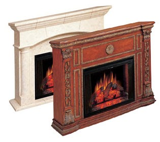 Fireplace Decorating Fake Fireplaces Are a Real Option