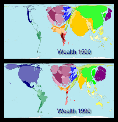 Density equalizing maps worldmapper busynessgirl to learn more about how the maps were created see the worldmapper about page sciox Images