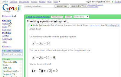 Why am I mucking about on Yahoo! answers rather than doing my college math homework?