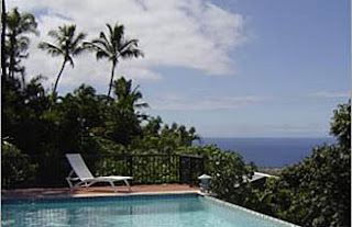 Kona Oceanview Vacation Home with Pool