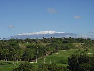 Views of Mauna Kea Golf Course