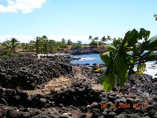Hiking Hawaii, Hiking ancient ocean trails, King's Trail on the Big Island