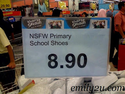 NSFW Primary School Shoes