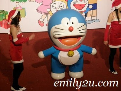 Christmas Day: I Want Doraemon @ Ipoh Parade 3rd & Final Day
