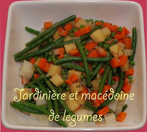 Whisk A Food Blog Jardiniere Et Macedoine De Legumes Vegetables