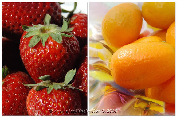 Strawberries and Kumquats