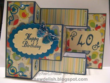 tri shutter card cricut expression make design studio tri-shutter birthday
