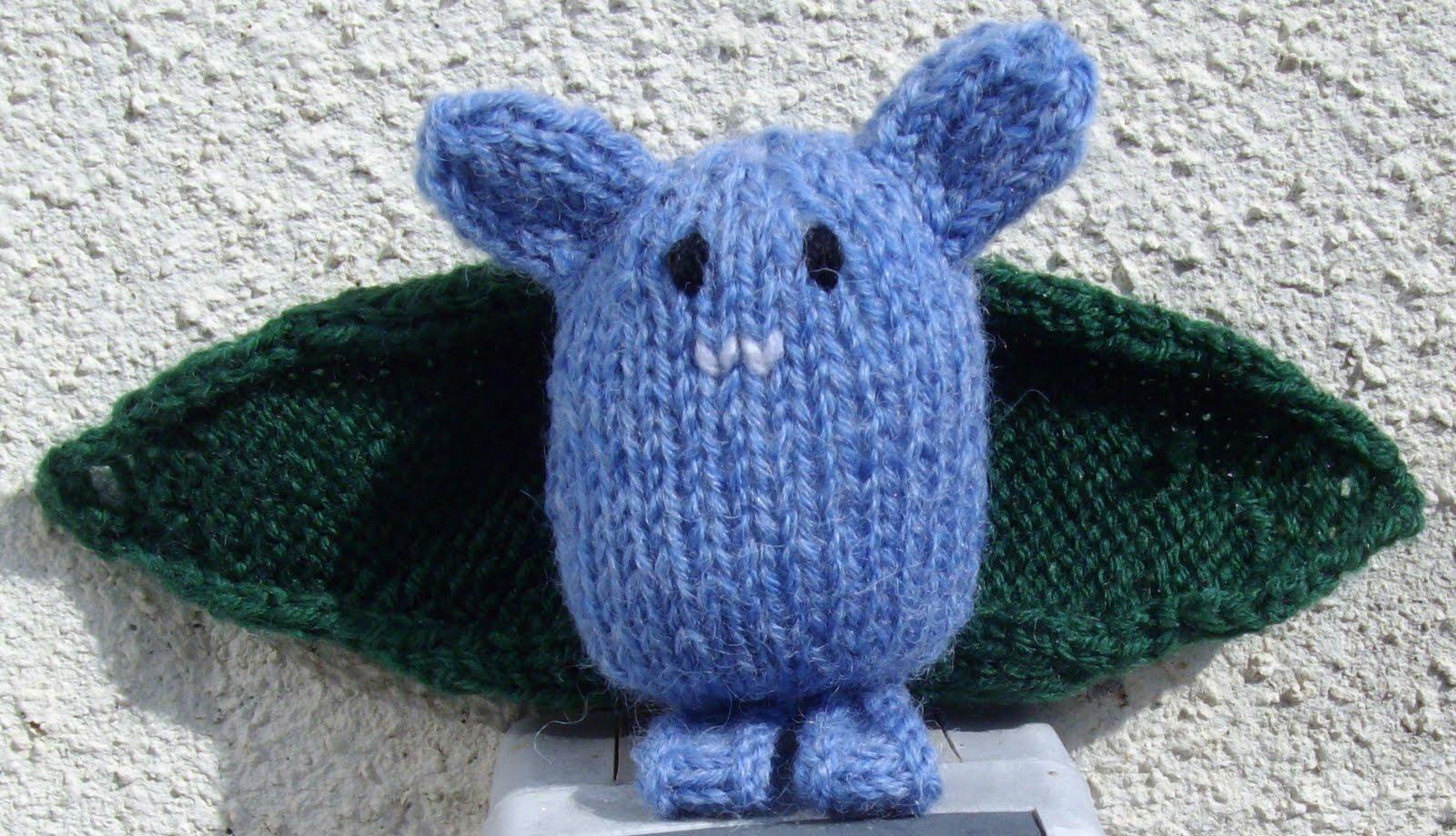 Du tricot et des jouets chauve souris vampire - Chauve souri vampire ...