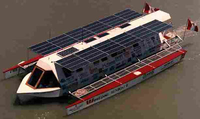 sunboat2 Solar Power   Eco friendly sail!