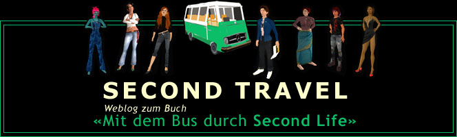 SECOND TRAVEL  |  Blog + Webcomic aus Second Life