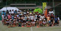 日本平キッズテニス2007記念写真
