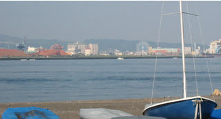 三保の海岸からの眺め