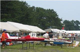 ボート大会の様子