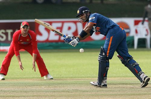 India Vs Zimbabwe Micromax Tri Series 1ts Match Photos
