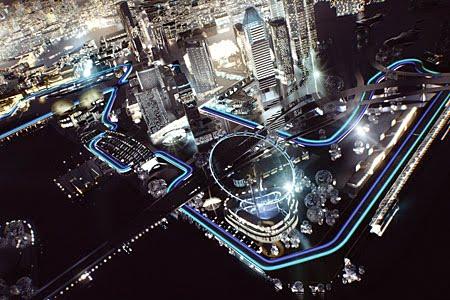 Circuito Callejero De Marina Bay : La logistica de la formula 1 para llegar a singapur visión auto