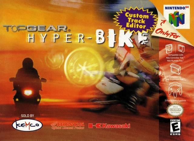Top Gear Hyper Bike Rom Nintendo 64 [N64]