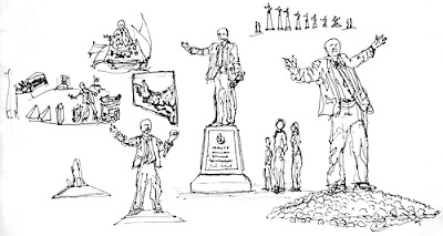 Rodney Carroll's proposal for statue