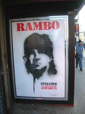 Rambo as Borf
