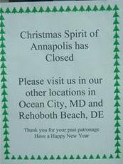 Annapolis sign