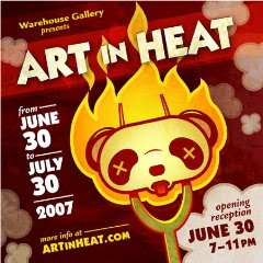 Art in Heat at Warehouse
