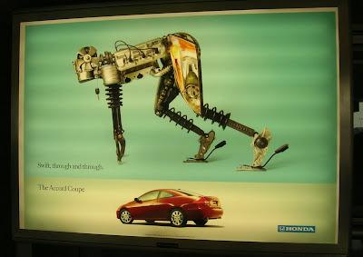Adam Bradley look-alike ad by Honda