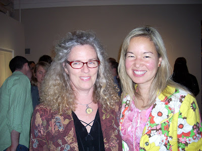 Pat Goslee and Philippa Hughes