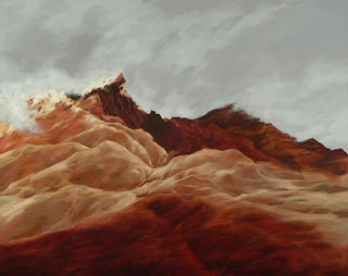 COTOPAXI, Oil on Canvas, 48 x 60 inches by Freya Grand