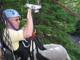 ZIPLINING IN B.C. - JULY 2007