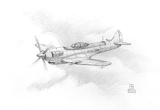 Plane Sketch on Les Dessins De Daniel  April 2008