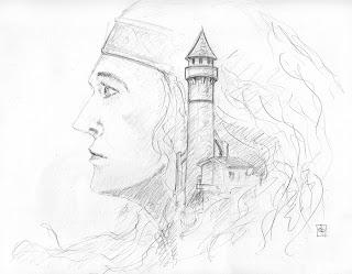 Les Dessins De Daniel Croquis D Une Princesse Sketch Of A