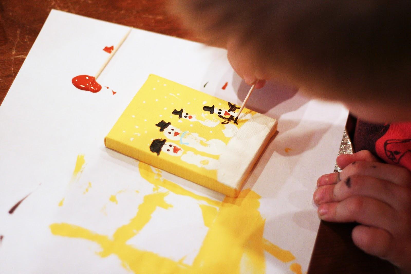 Handprint Snowman Ornament Tutorial - U Create