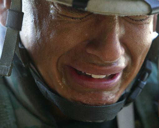 american soldiers crying - photo #2