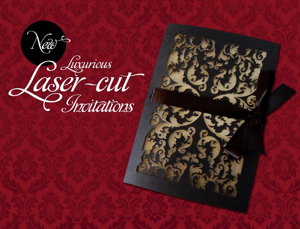 Wedding Laser Cut Invitations: It's All Polkadots!: NEW! Laser-cut Invitations