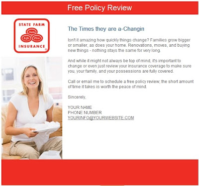 statefarm Sample Insurance Newsletter Templates on templates free, for october auto,