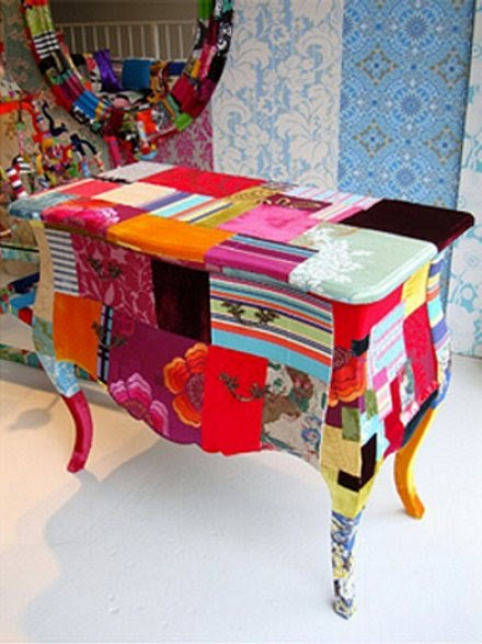 Quilts Color Perfect Painted Patchwork Furniture