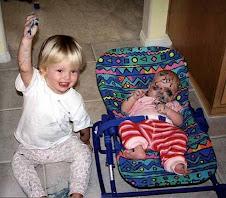 decorando al bebé a juego con la silla