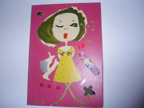 pinky girl(las tres gracias)