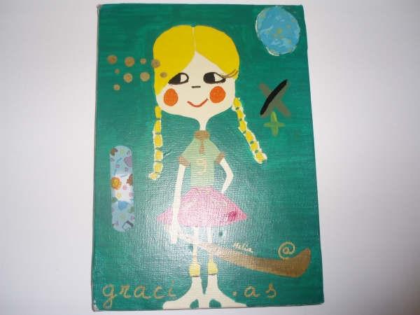 green girl(las tres gracias)