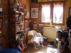 mi cuarto de abajo con la luz de la mañana