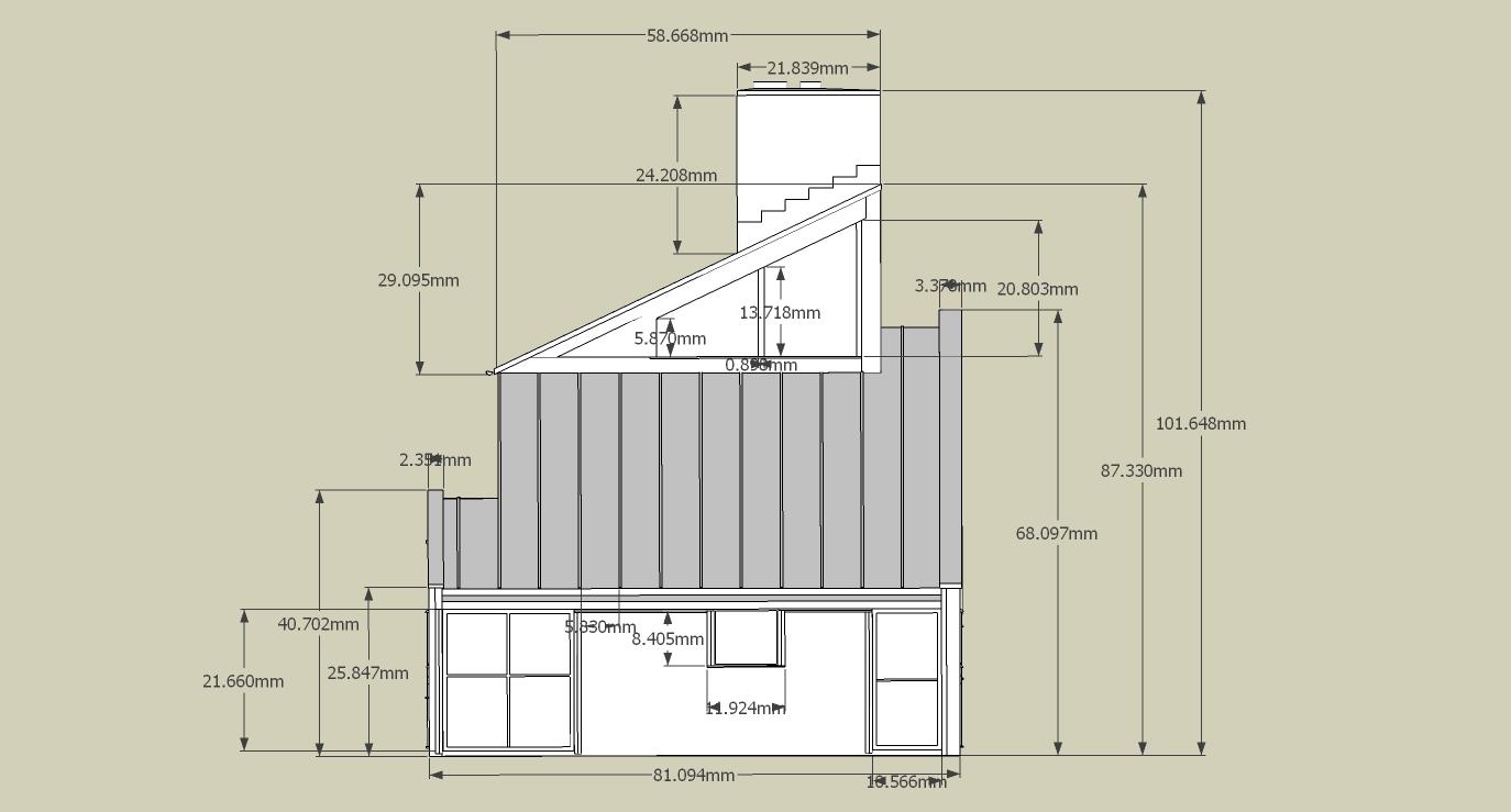 3 Vanna Venturi House Plan Section Elevation on fisher house elevation, vanna venturi interior, kaufmann house elevation, eames house elevation, vanna venturi sections dimensions, tugendhat house elevation,