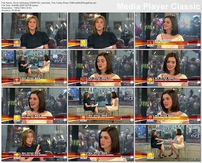 anne hathaway interviews